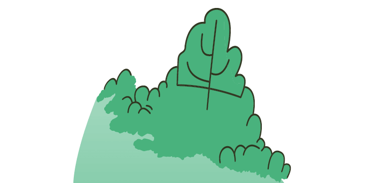 Lawn bush lrg art 2x